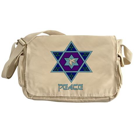 Peace For Hanukkah Messenger Bag