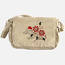 Christmas Rat Messenger Bag