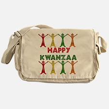 African Dancers Messenger Bag