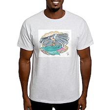 Mermaid Ash Grey T-Shirt