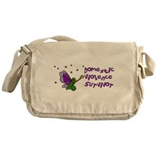 Domestic Violence Survivor Messenger Bag