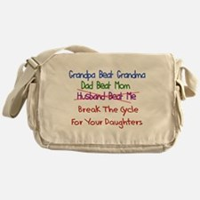 End Cycle Of Violence Messenger Bag