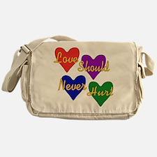 End Domestic Violence Messenger Bag