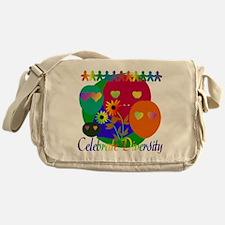 Celebrate Diversity Messenger Bag