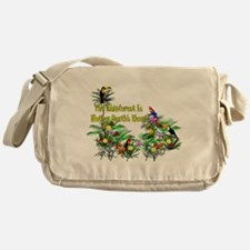 Save The Rainforest Messenger Bag