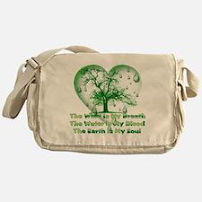 Pagan Treehugger Messenger Bag