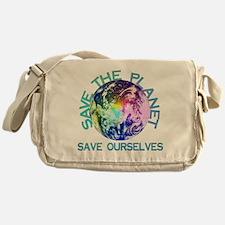 Save The Planet Messenger Bag