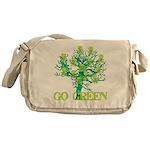 Earth Day Skulls Messenger Bag