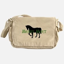 Merry Meet Spirit Horse Messenger Bag