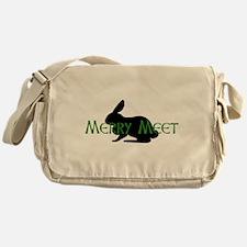 Merry Meet Spirit Rabbit Messenger Bag
