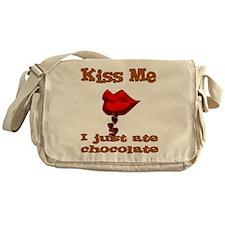 Chocolate Kiss Messenger Bag