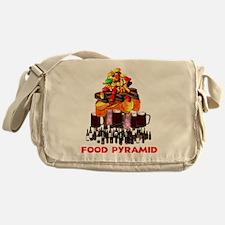 Food Pyramid Messenger Bag