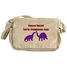 Overbreeding Dinosaurs Messenger Bag