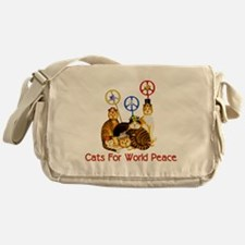 World Peace Cats Messenger Bag