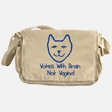 Anti-Palin Voter Messenger Bag