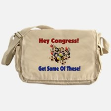 Anti-War Anti-Iraq Messenger Bag