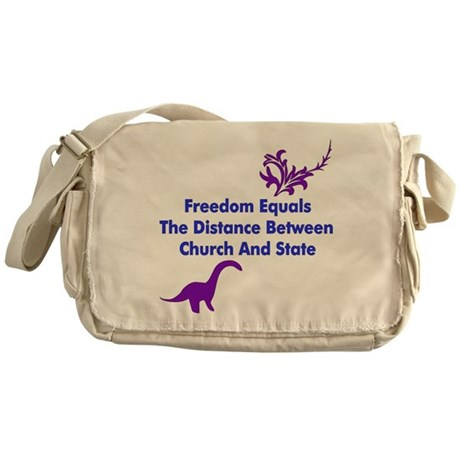 Separation of Church and Stat Messenger Bag