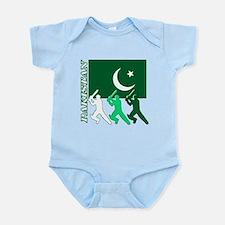 Cricket Pakistan Infant Bodysuit