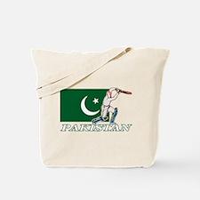 Cricket Pakistan Tote Bag