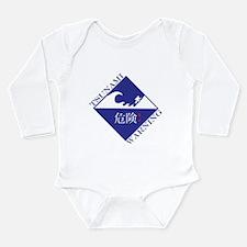 tsunami warning Long Sleeve Infant Bodysuit