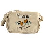 Flamencofish Messenger Bag