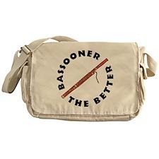Bassooner (circular) Messenger Bag