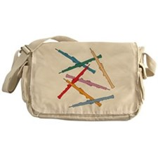 Colorful Oboes Messenger Bag