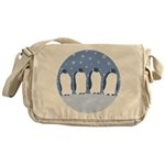 Penguin Quartet Messenger Bag
