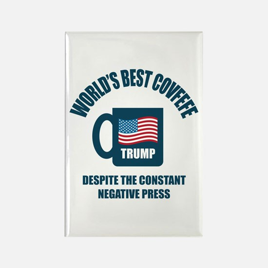 Trump Covfefe Rectangle Magnet