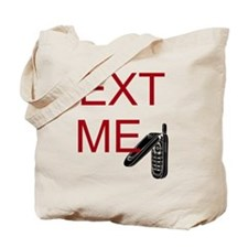 Cute Text message Tote Bag