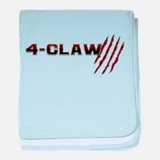 Cute Claw marks baby blanket