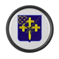 Cute 6th infantry Large Wall Clock