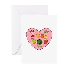 Loving Raw Vegan Greeting Card