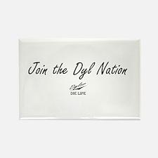 Dyl Nation (Political) Rectangle Magnet