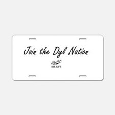 Dyl Nation (Political) Aluminum License Plate