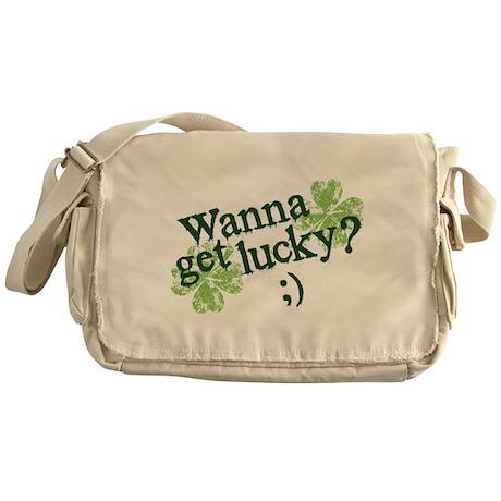 Wanna Get Lucky? Messenger Bag