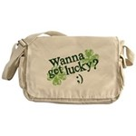 Wanna Get Lucky? Messenger Bag