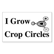 Crop Circle Rectangle Decal