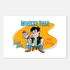 Monkey Talk Postcards (Package of 8)