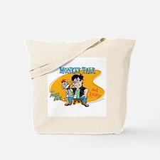 Monkey Talk Tote Bag