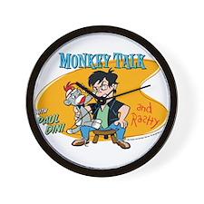 Monkey Talk Wall Clock