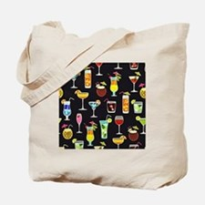 It's 5 O'Clock Somewhere Cocktails Tote Bag