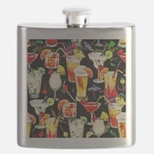 Cocktail Hour in the Tropics Flask