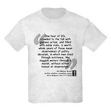 Scott Action Quote T-Shirt