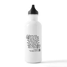 Scott Action Quote Water Bottle
