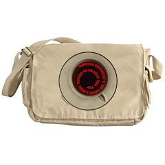 COFFEE/JAVA Messenger Bag