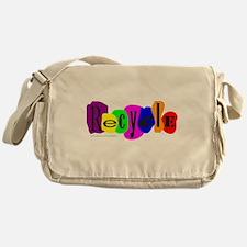 RECYCLE AWARENESS Messenger Bag