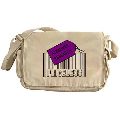 ALZHEIMER CAUSE Messenger Bag