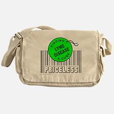 Cute Lyme disease survivor Messenger Bag