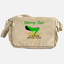 LYME DISEASE AWARENESS Messenger Bag